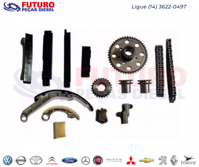 KIT CORRENTE NISSAN FRONTIER 2.5 (DUPLA) OBS