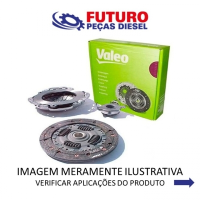 KIT EMBREAGEM DUCATO JUMPER BOXER 2.8 06/