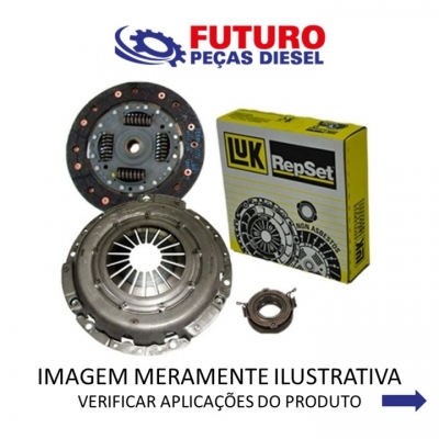 KIT EMBREAGEM S10 BLAZER 2.2 2.4 GAS C/ ROL( OBS )