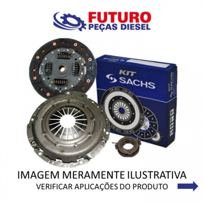 KIT EMBREAGEM 275MM L200TRITON 2.4 3.2 3.5 08/ OBS