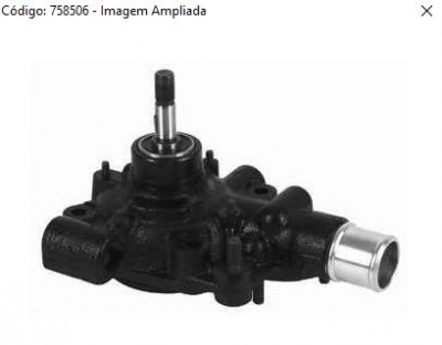 BOMBA AGUA IVECO DAILY 3510 3512 5012 7012 2.8